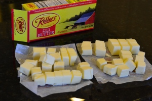 Butter - Cubed and Ready to Use!