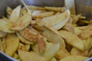 Apples with Cinnamon and Sugar