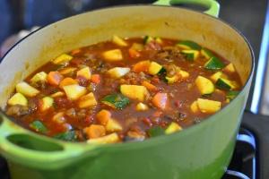 Yummy Vegetable Beef Soup