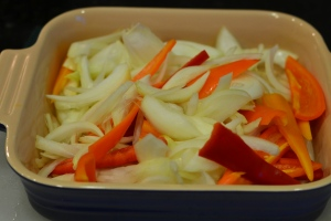 Pepper and Onion Prep