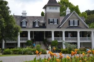 Magnolia Plantation House, Front View 1