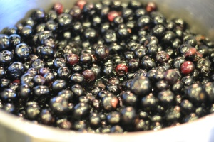 Boozy Blueberries