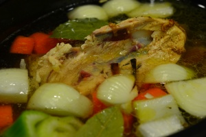 chicken stock crock pot