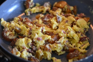 corned beef scramble