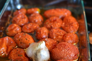 oven roasted toms