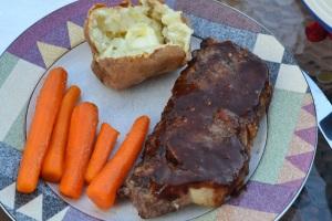 steak and pots