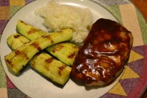 pork and zucchii