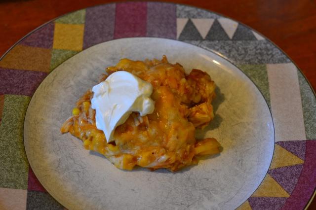 chx enchilada casserole