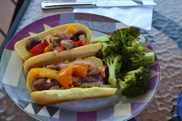 brats and broccoli