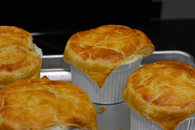 vegetarian pot pies