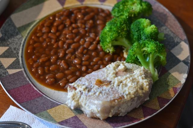 milk braised pork and beans