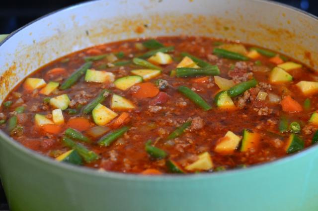 italian veg soup